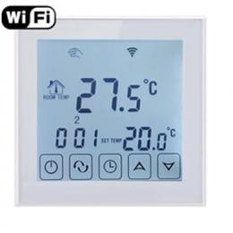 Терморегулятор EcoTerm SEN WI-FI White