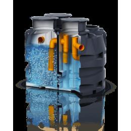 Установка очистки сточных вод WSB-clean (9-10 человек)